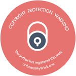 copyright protection warning logo