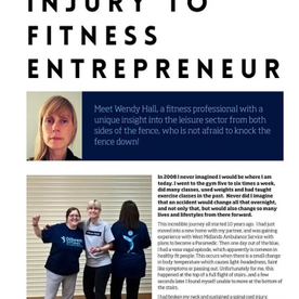 News Article Disability to Fitness Entrepreneur
