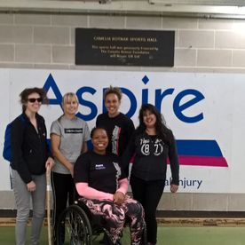 FUNction Fitness training with Aspire Charity Leisure centre