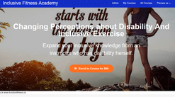 Online training and resources fom our inclusive fitness academy