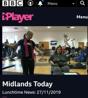 bbc visits function fitness and includemewm campaign
