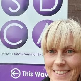 SDCA sandwell deaf community visit from wendy